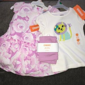 Gymboree 4 PC size 12/18 months NWT!! SPRING